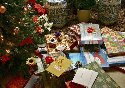 Christmas, gifts, books as gifts