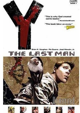 Y the last man vol 1 Unmanned, comic