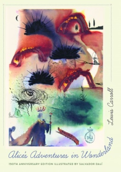 Alice's Adventures in Wonderland illustrated by Salvadore Dali