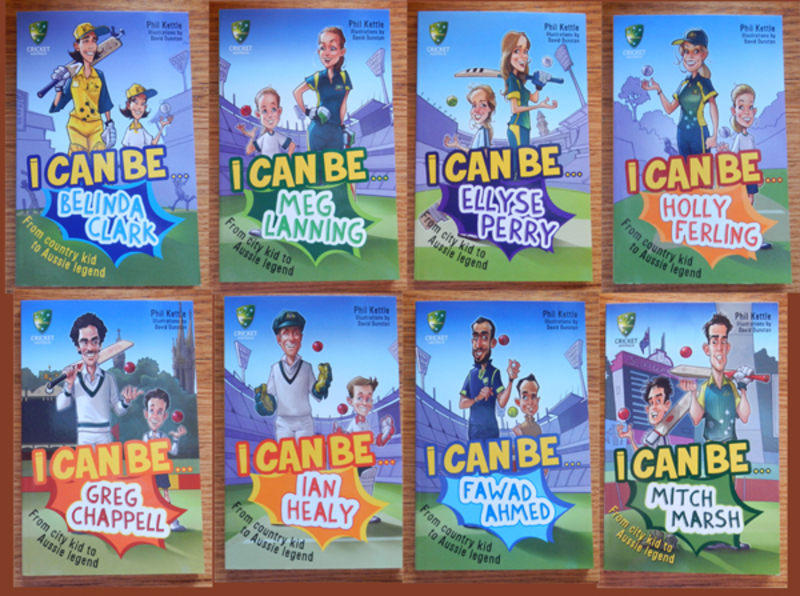 The 'I Can Be...' Cricket Australia Childrens' Series