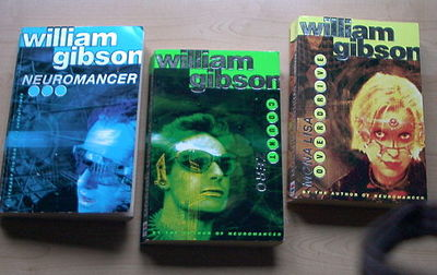 cyberpunk novels, William Gibson, sprawl trilogy