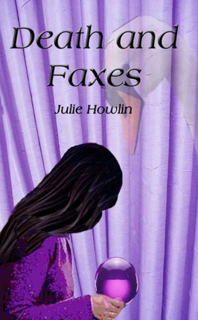 Death and Faxes, Julie. S. Howlin, psychic thriller, books about psychics