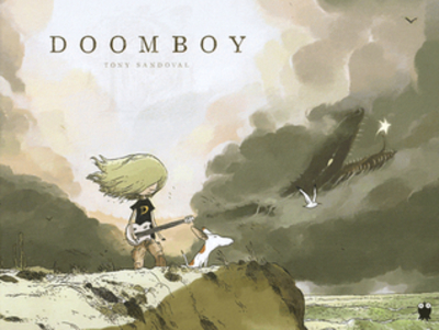 doomboy, toby sandoval, graphic novel