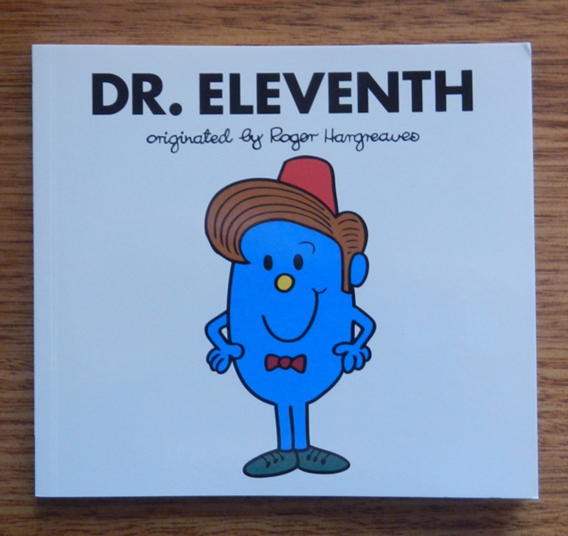 Doctor Who-Themed Mr. Men Books
