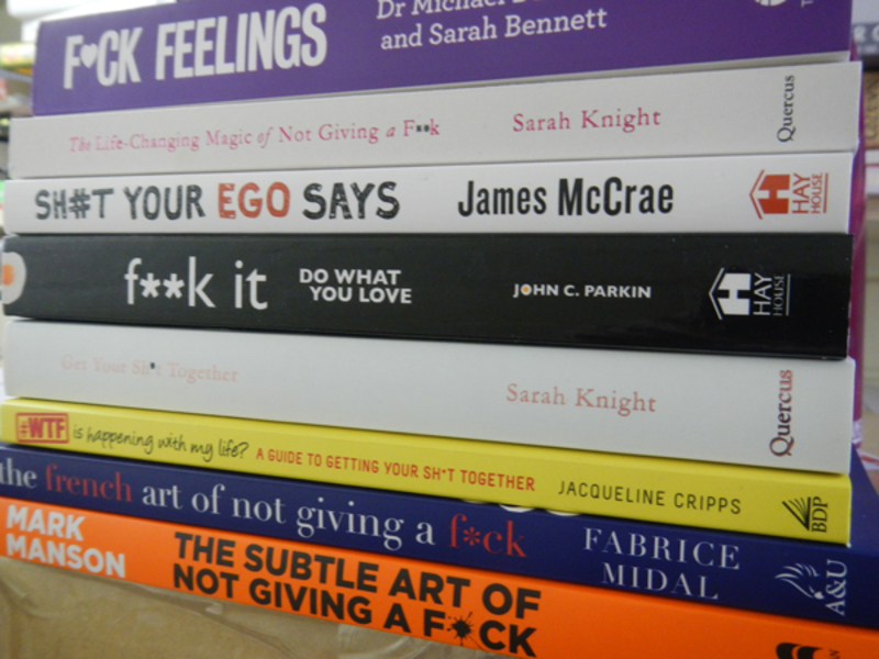 Do You Think That Profanities On Covers Sell Books?