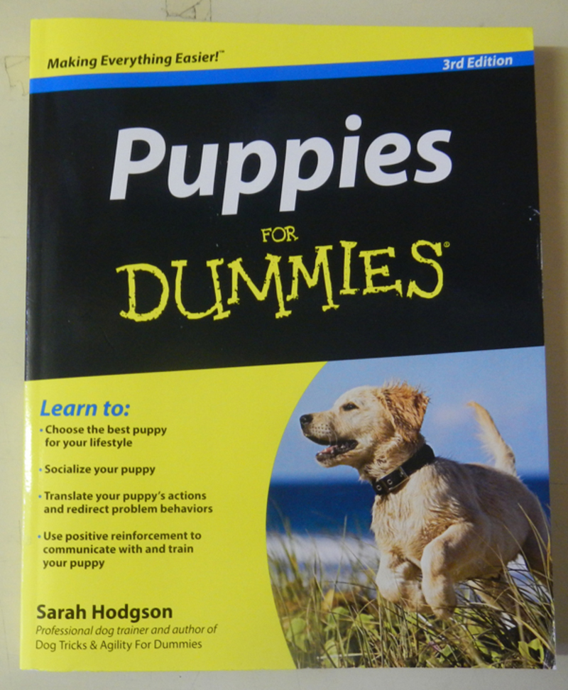 Puppies For Dummies (3rd Edition) by Sarah Hodgson