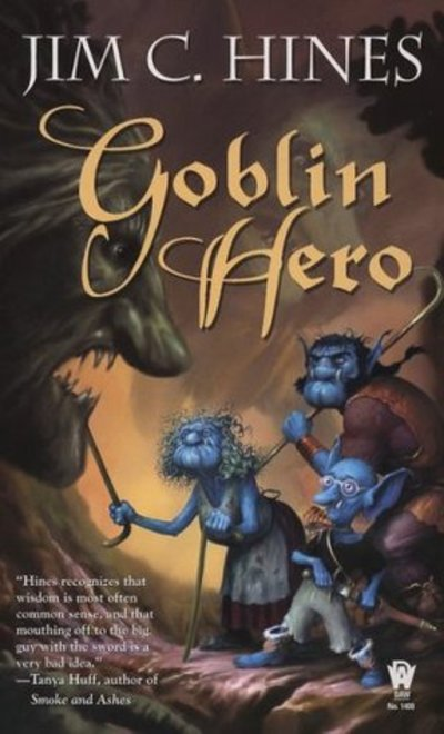 goblin hero, Jig the Goblin, Jim C. Hines