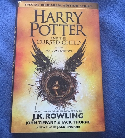 harry potter and the cursed child, rehearsal script