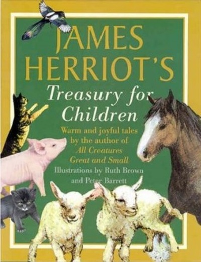 james herriot, charlotte mason books, james herriot's treasury for children