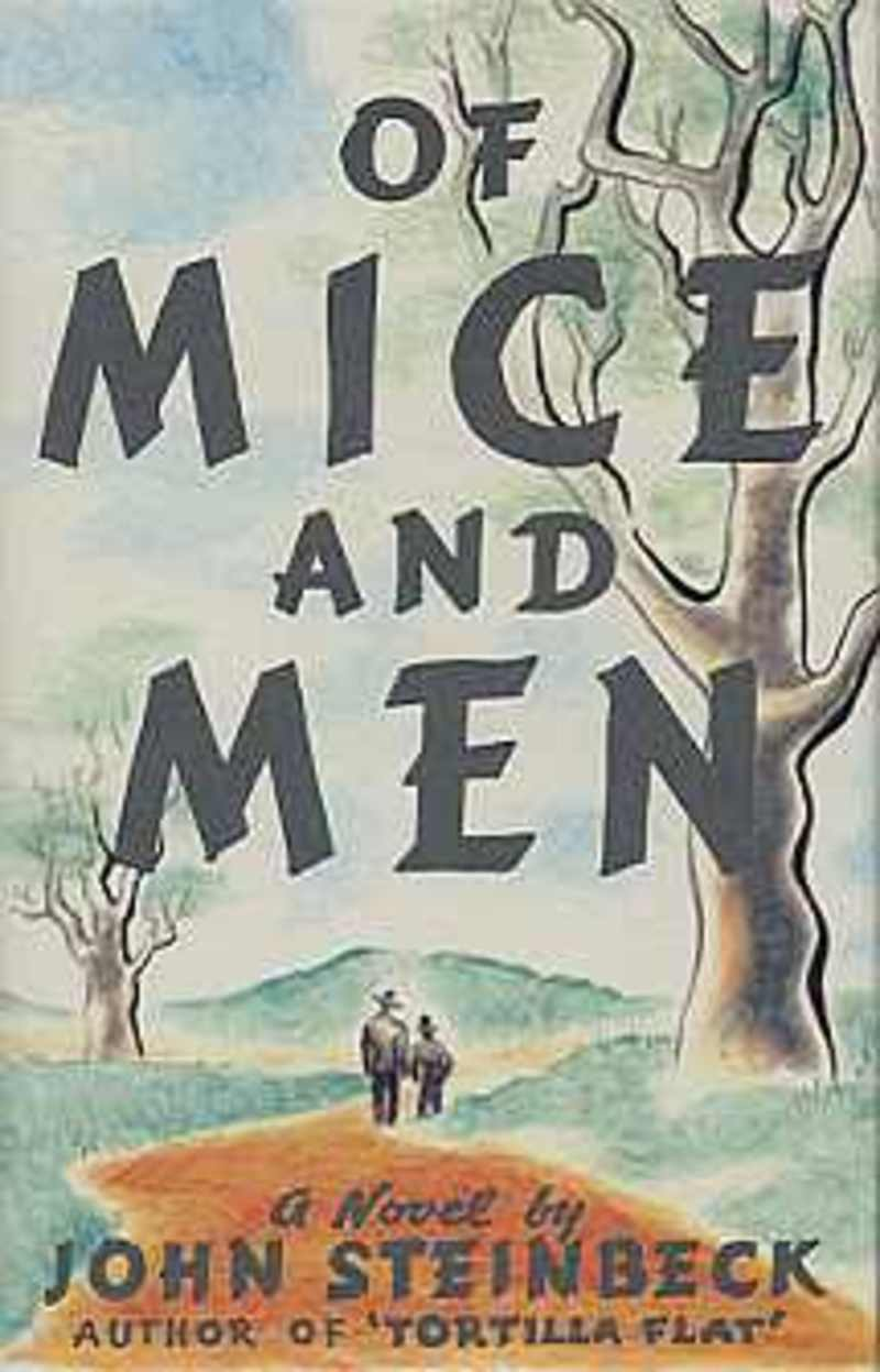 an analysis of of mice and men by john steinbeck Summary of chapter 1 of john steinbeck's of mice and men.