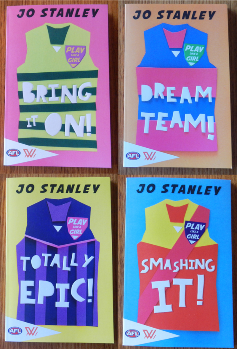 Play Like A Girl series by Jo Stanley