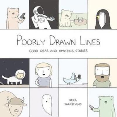Poorly Drawn Lines, Reza Farazmand, books based on webcomics