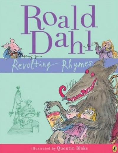 revolting rhymes, Roald Dahl, censorship, banned books