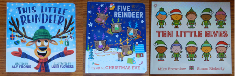Christmas Books About Santa's Friends