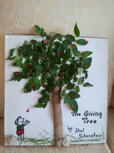 Shel Silverstein, The Giving Tree, Children's book, life lessons