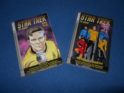 star trek, comics, manga
