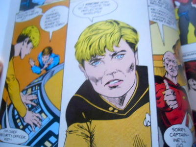 star trek, comics, star trek voyager