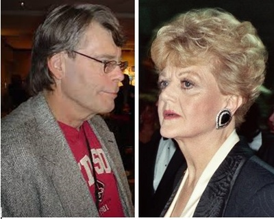 Stephen King and Angela Lansbury