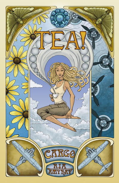 Tea, Amy Hay, Ria, comics, comics by women, comics drawn by women