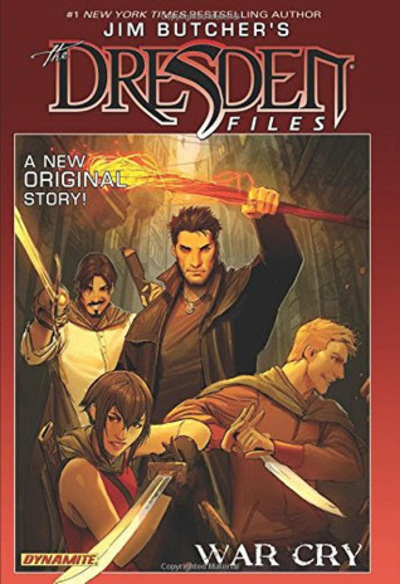 The Dresden Files War Cry, Jim Butcher, Jim Butcher's The Dresden Files, The Dresden Files comics, urban fantasy comics