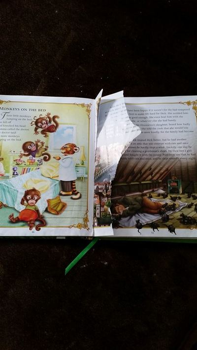 Torn page