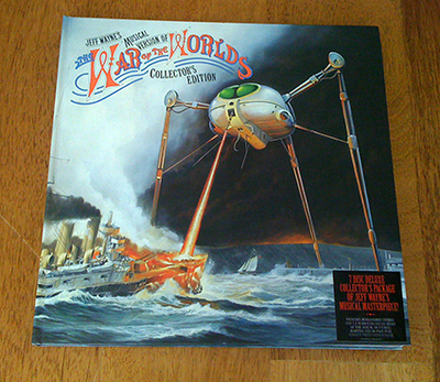 War of the Worlds limited edition cover