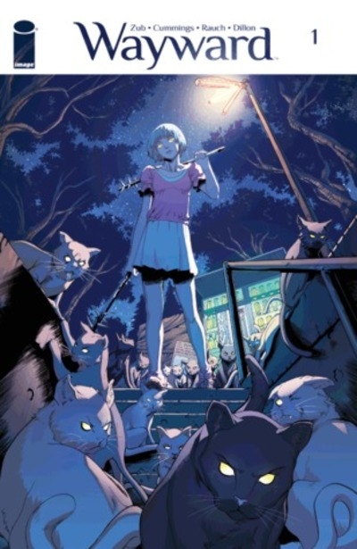 Wayward, Wayward #1, comics about monsters, comics set in Japan, Jon Rauch, Jim Zum, Steve Cummings