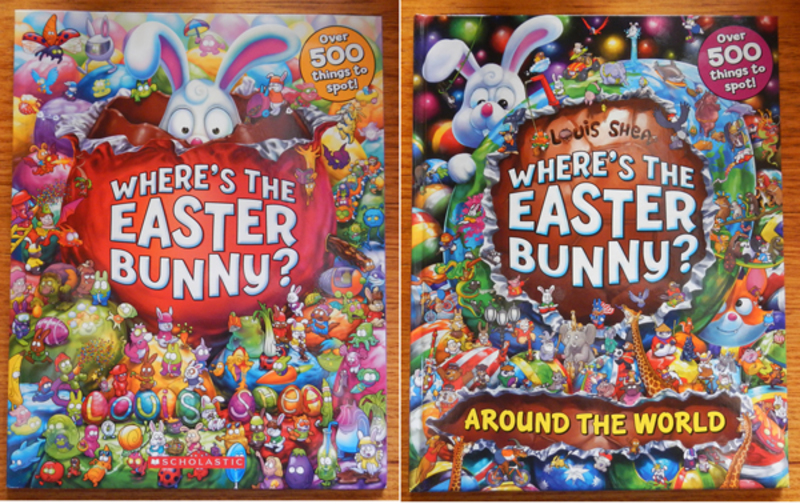 Search-And-Find Books For Easter