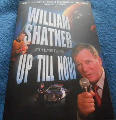 william shatner, up till now, autobiography