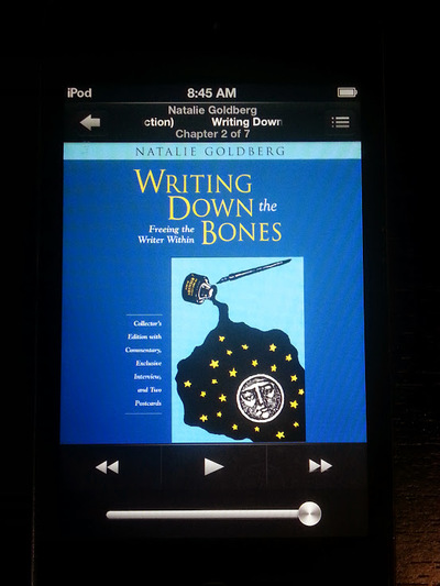 Writing Down the Bones by Natalie Goldberg Audiobook